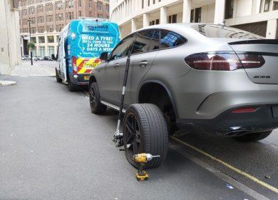 Tyre Fitting near Kensington SW7 – Central London