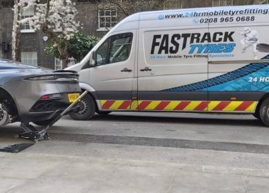 Mobile Tyre Fitters near Chelsea SW3 – SW10