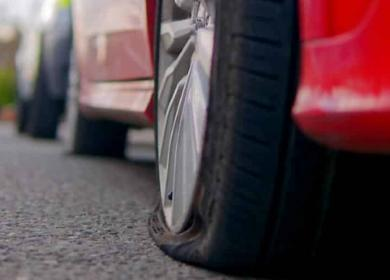 Flat Tyre: What to Do?